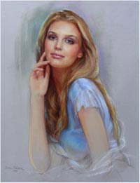 Pastel portraits to order