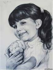 small greek girl